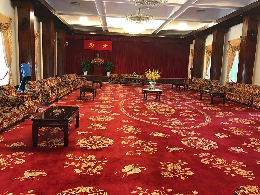 Receiving room for ambassadors