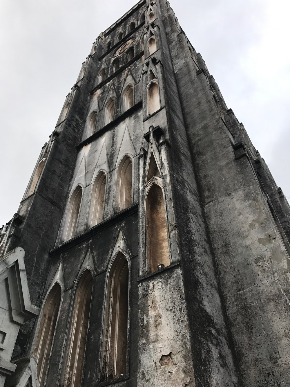 French architecture of St Joseph's