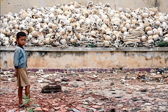 Real killing field of Cambodia