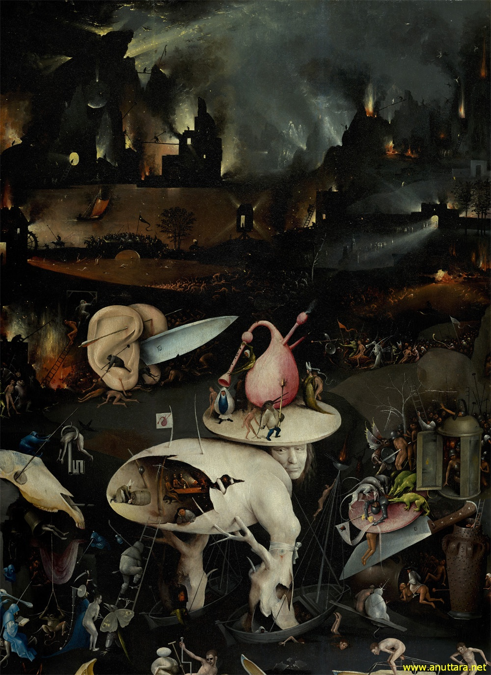 The Garden of Earthly Delights by Hieronymous Bosch