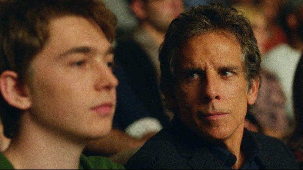 Brad and his college-bound son.