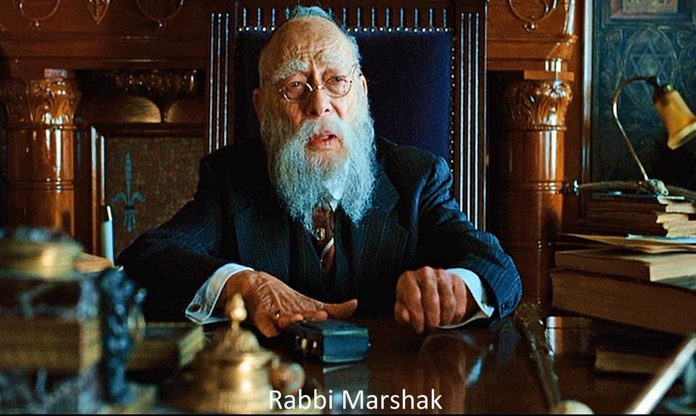 Rabbi from the Coen brothers film, A Serious Man