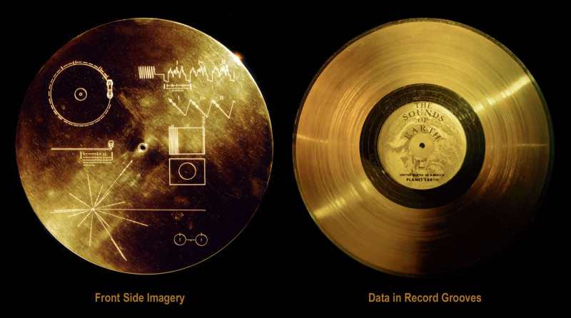 Voyager's recording