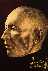 Death mask of St Ignatius