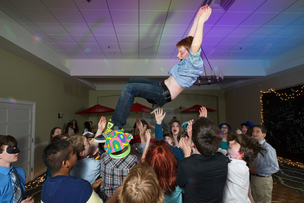 Bar Mitzvah party photography