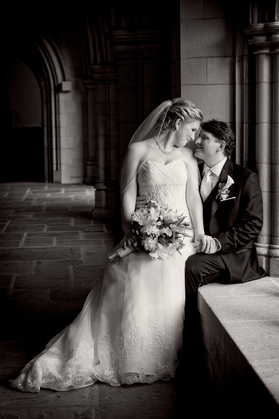Wedding Portrait, Trinity Collge