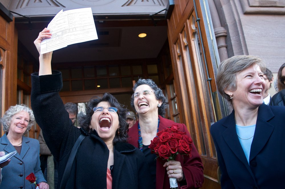 Gay Marriage in CT