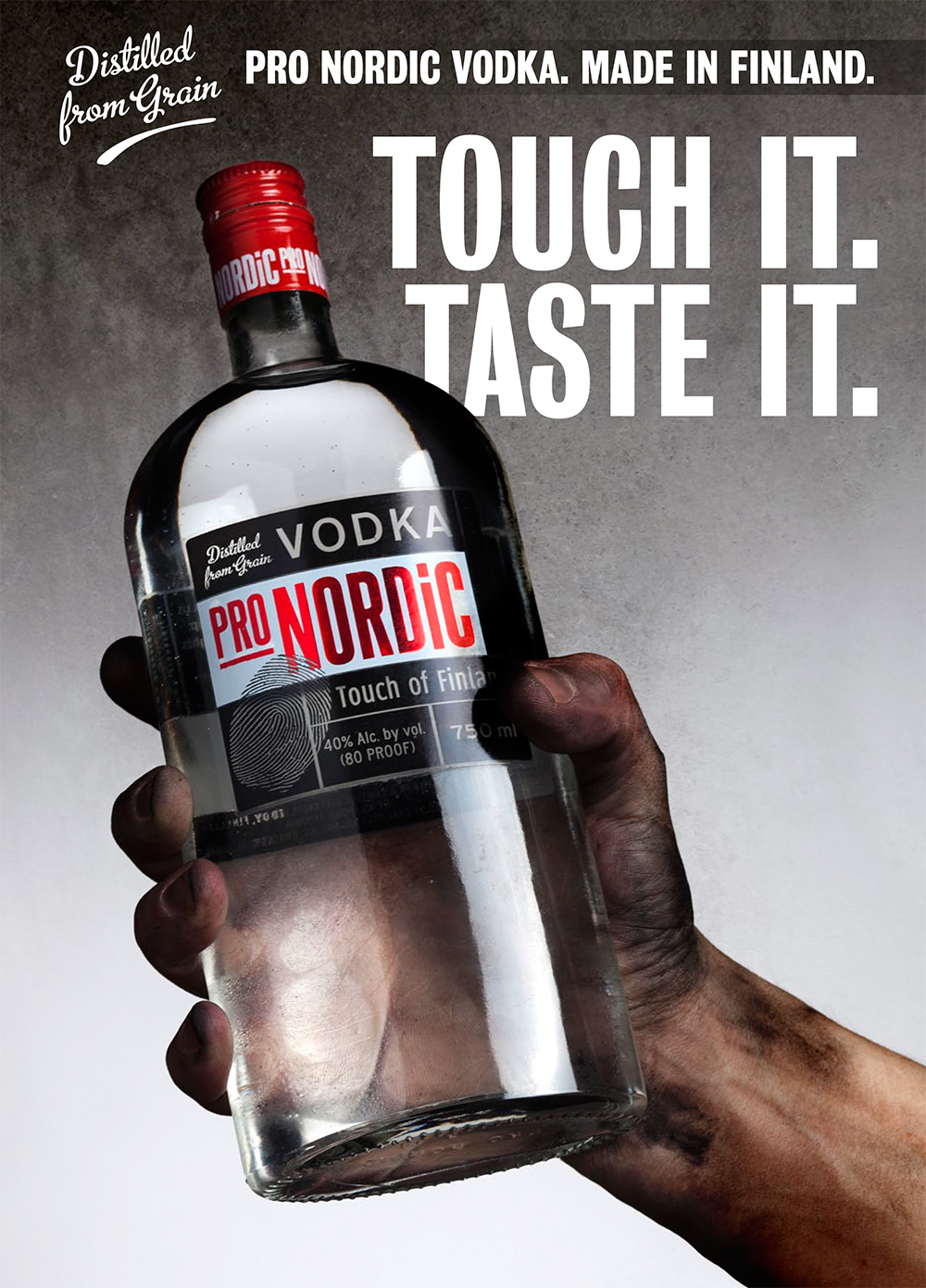 Pro Nordic Vodka consept proposal