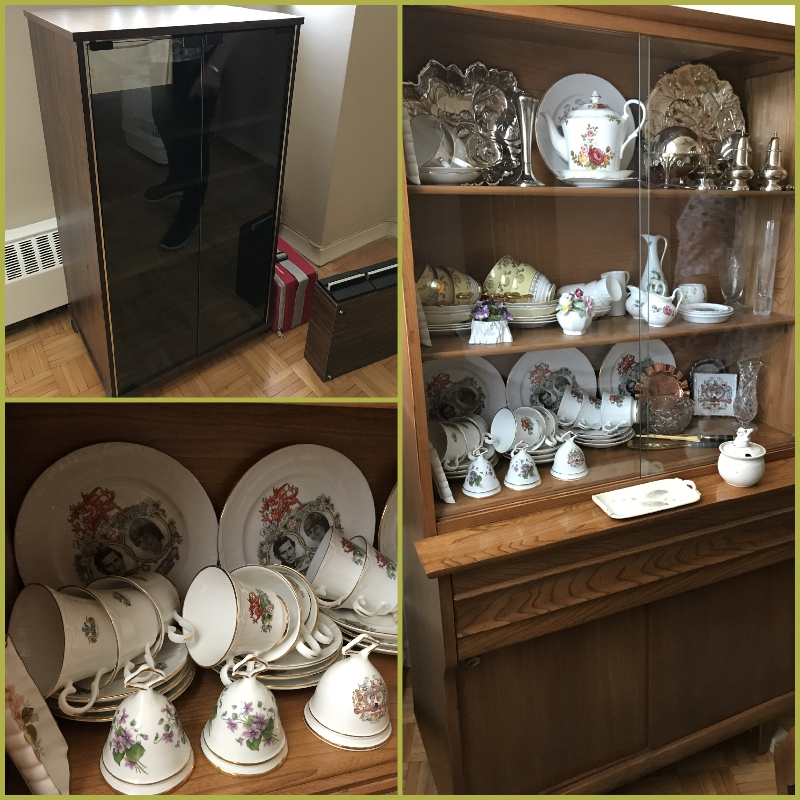 Display cabinet and hutch also available and in great condition.