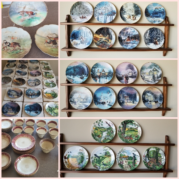 Bradford plate collections and an antique set of China!