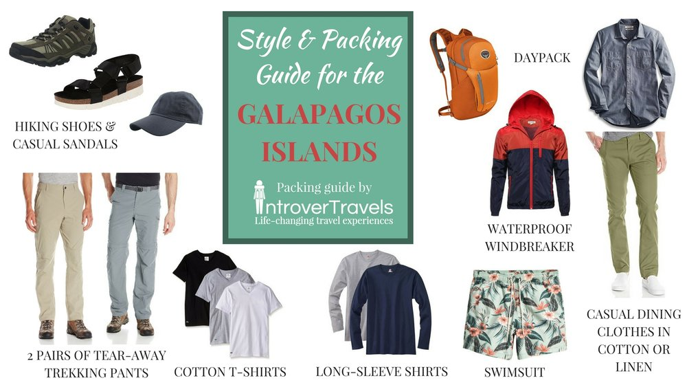 IntroverTravels Galapagos Packing List