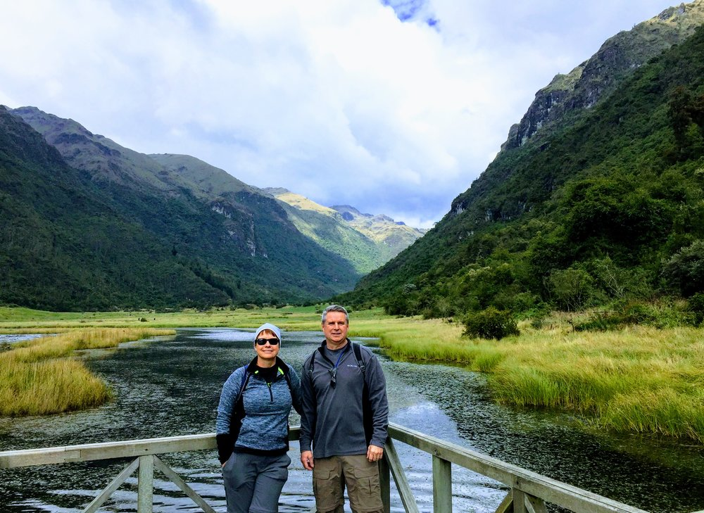 IntroverTravels clients in Ecuador