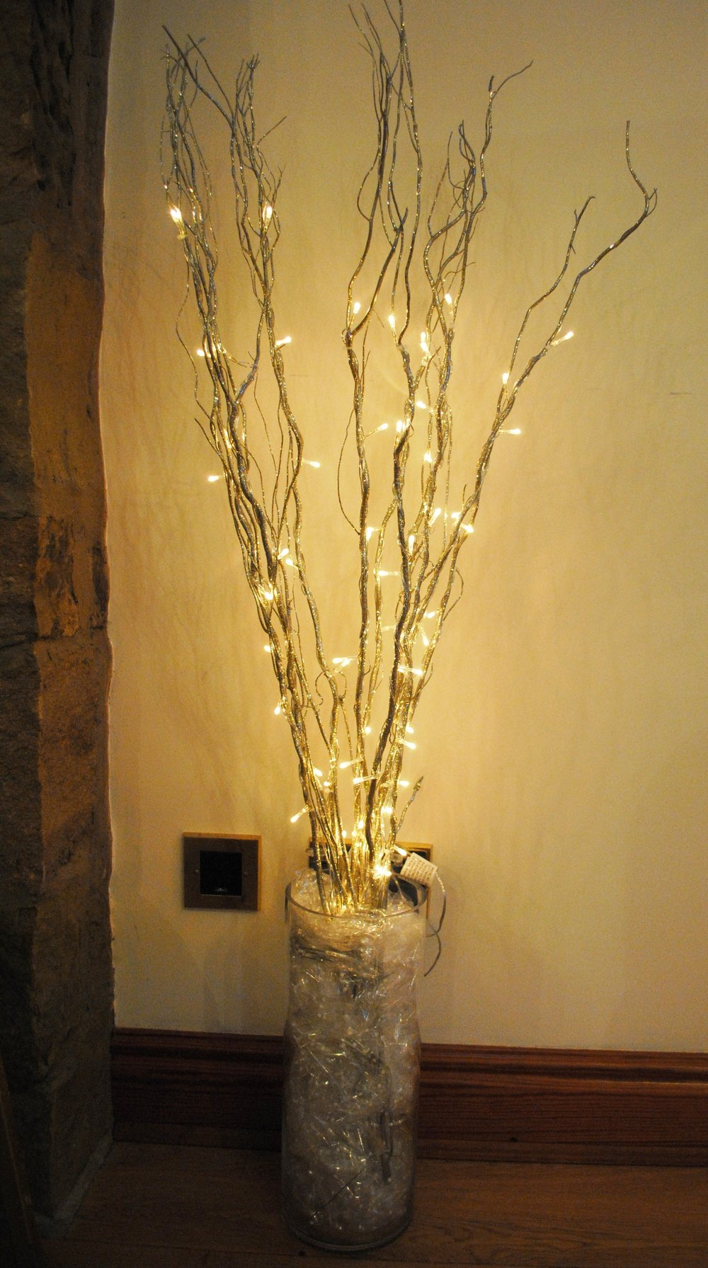 Fairy light twigs