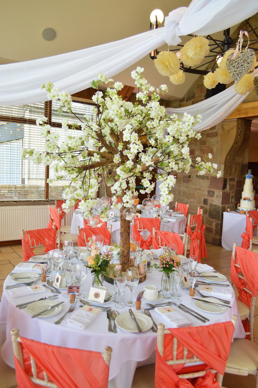 Blossom tree centrepiece