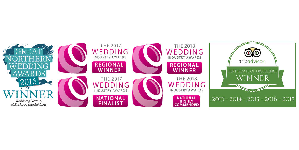 Awards... - Beeston Manor achieved the award of 'Wedding Venue (Countryside) go the year:Highly Commended Award' in the 2018 UK National Wedding Industry Awards, Winner of 'Best Countryside Wedding Venue in the North West in the 2017 &2018 Wedding Industry Awards and 'WINNER' in the Great Northern Wedding Awards 2016.See our reviews on Trip Advisor.