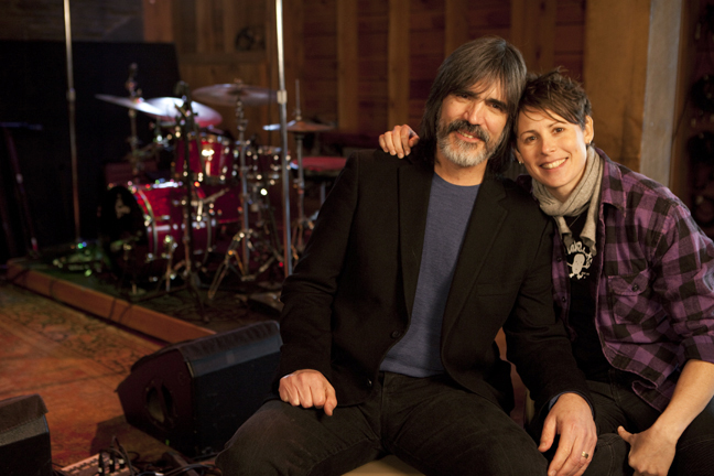 Larry Campbell  (Levon's barn - Woodstock, NY)