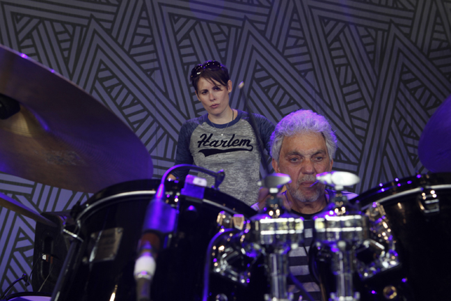 Steve Gadd  (soundcheck - Hartford, Connecticut)