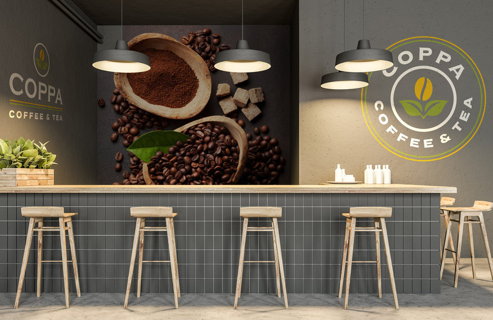 Coppa Coffee & Tea - Brand Update Concepts
