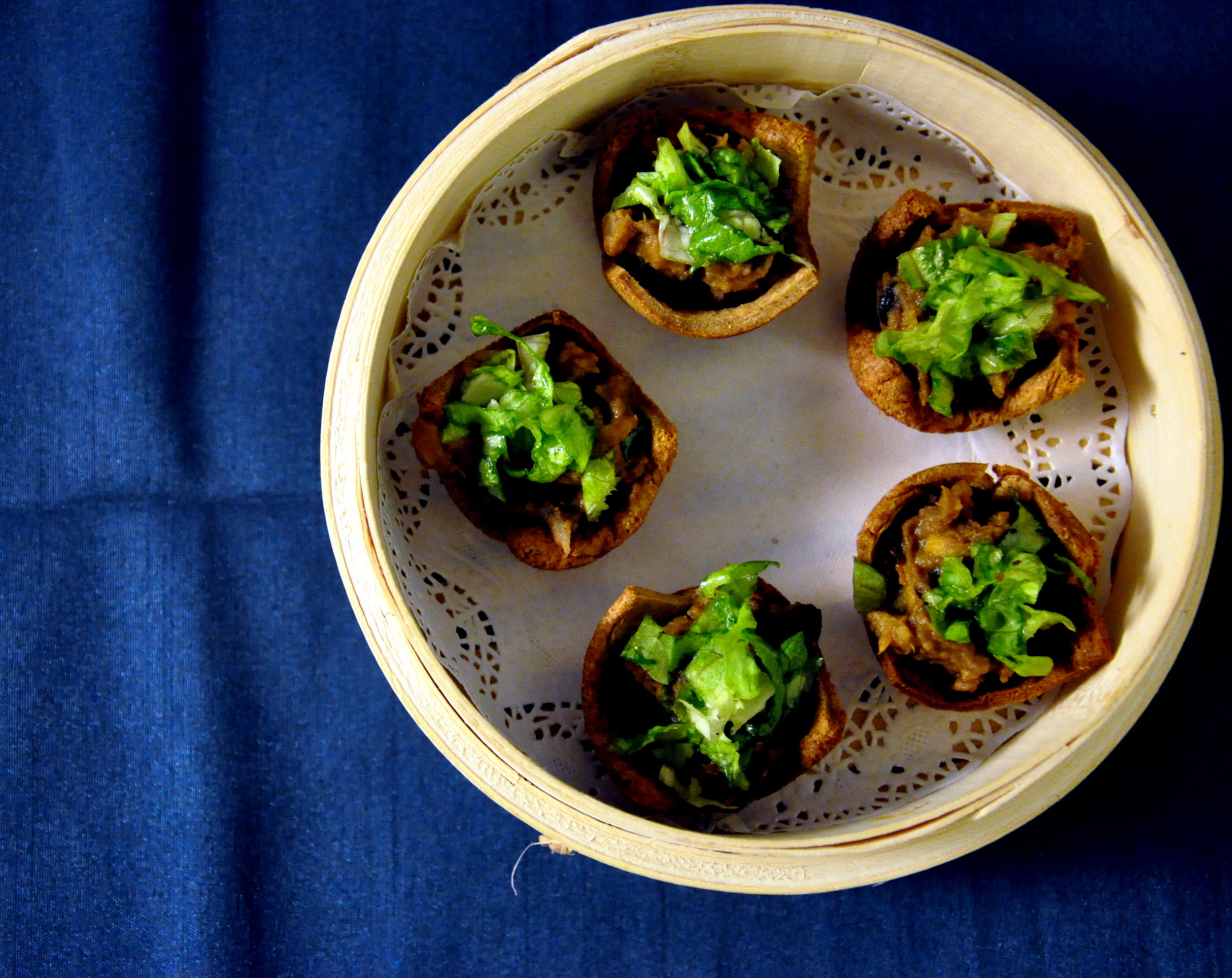 Red Bean Salad Cups