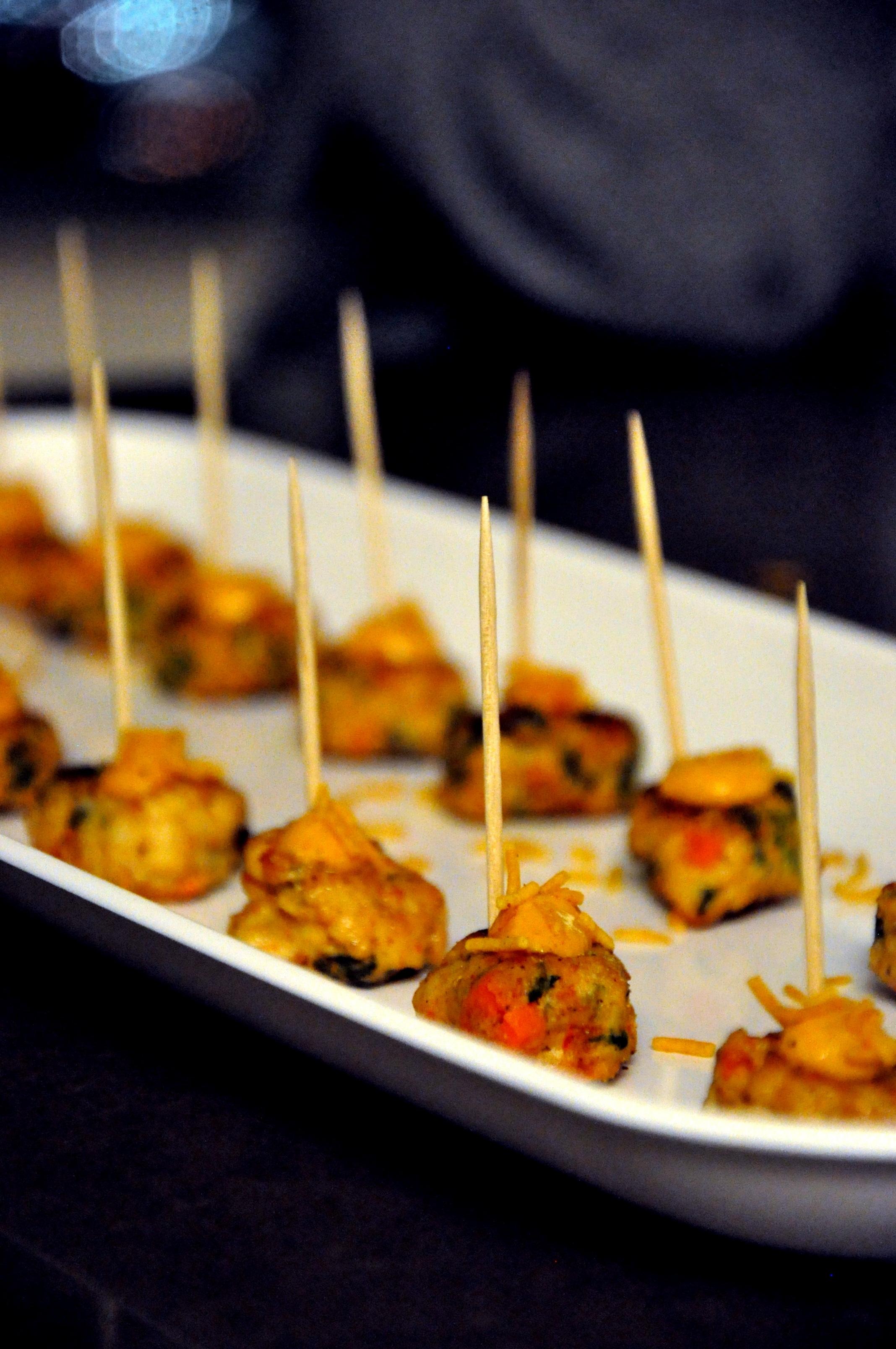 Tandoori Shrimp Cakes