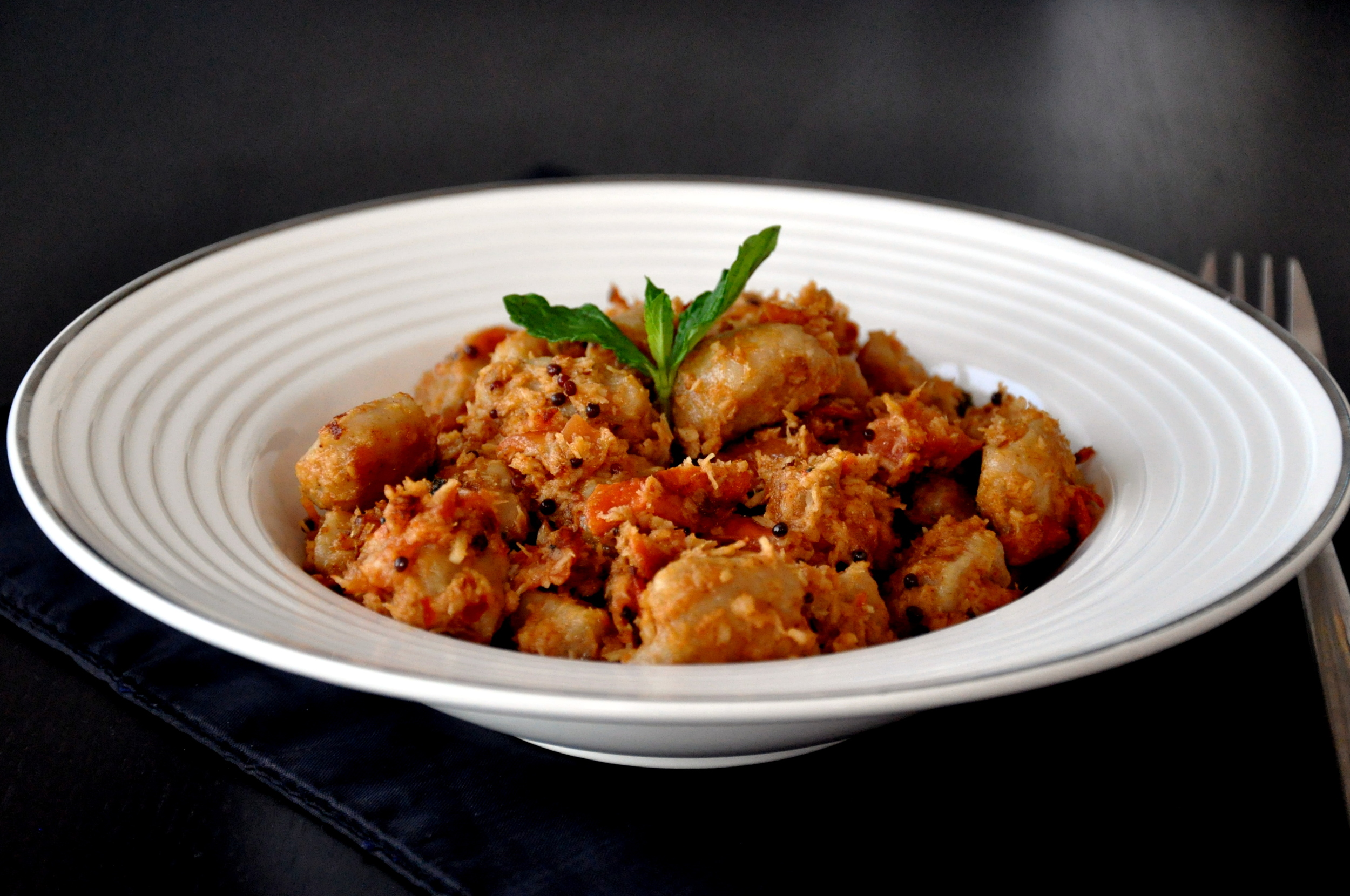 Gnocchi in Tomato Coconut Sauce2