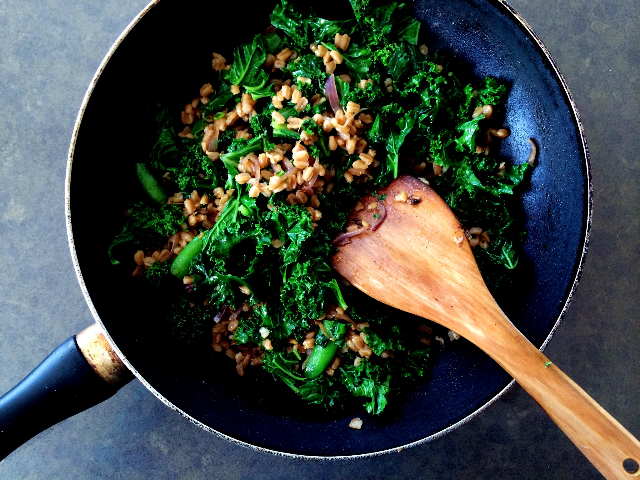 Kale & Farro Fried Rice2