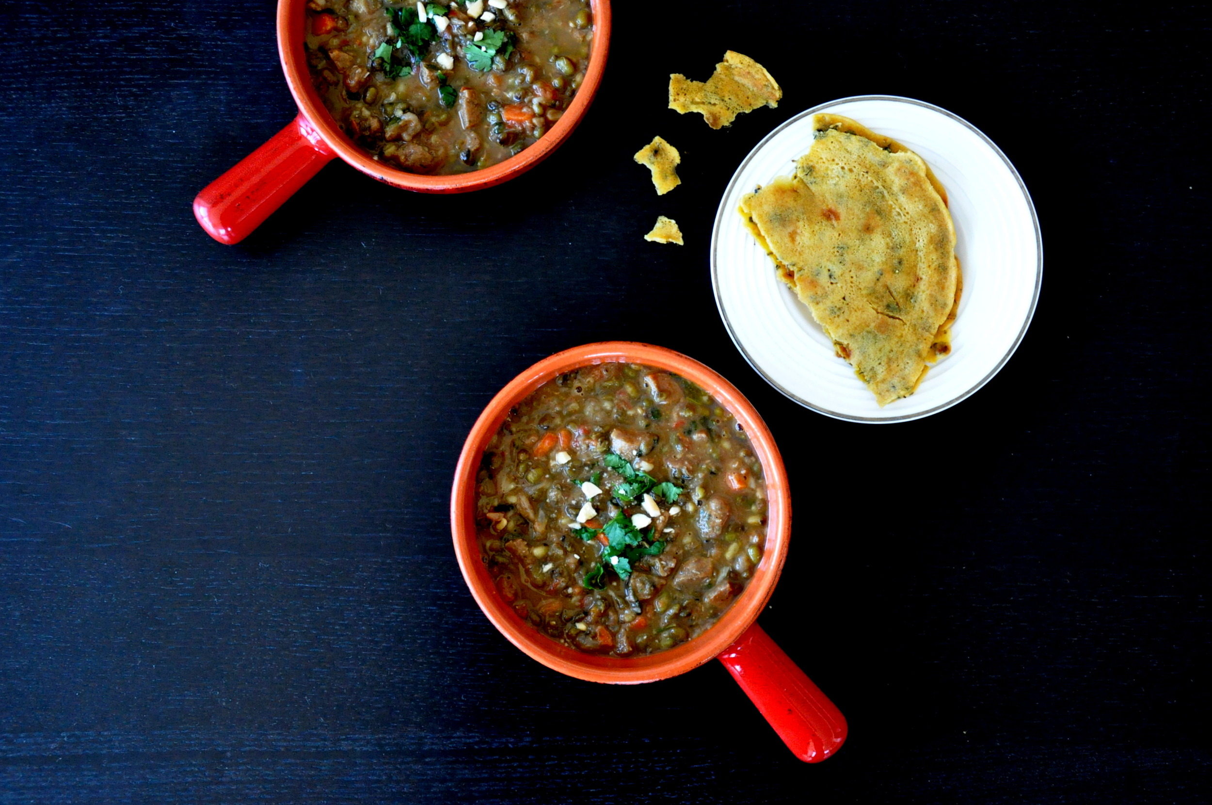 Sausage & Green Lentil Curry1