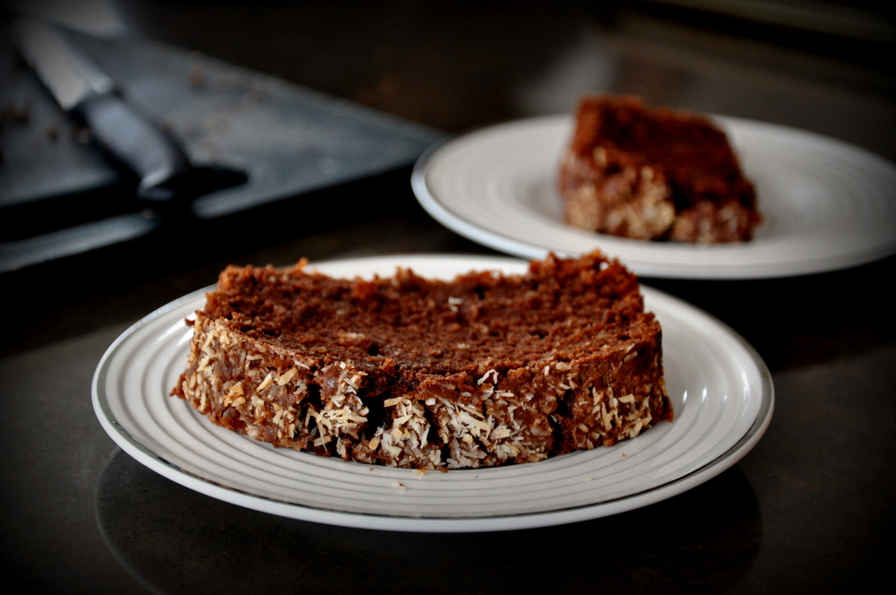 Chocolate Coconut Atta Cake3