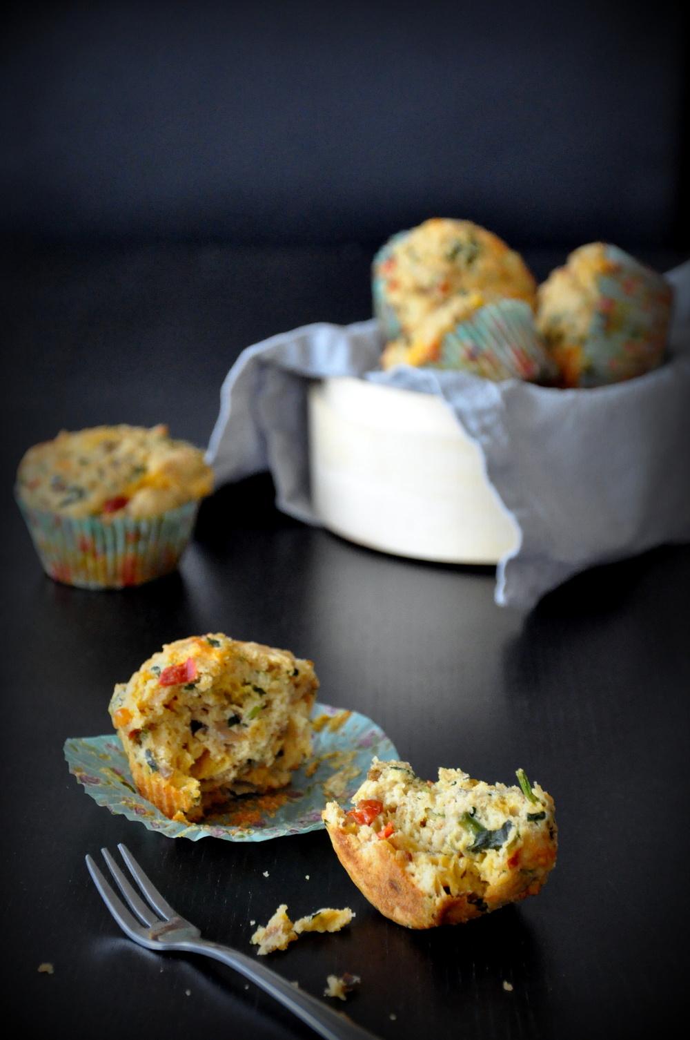 Atta Spicy Savory Muffins4