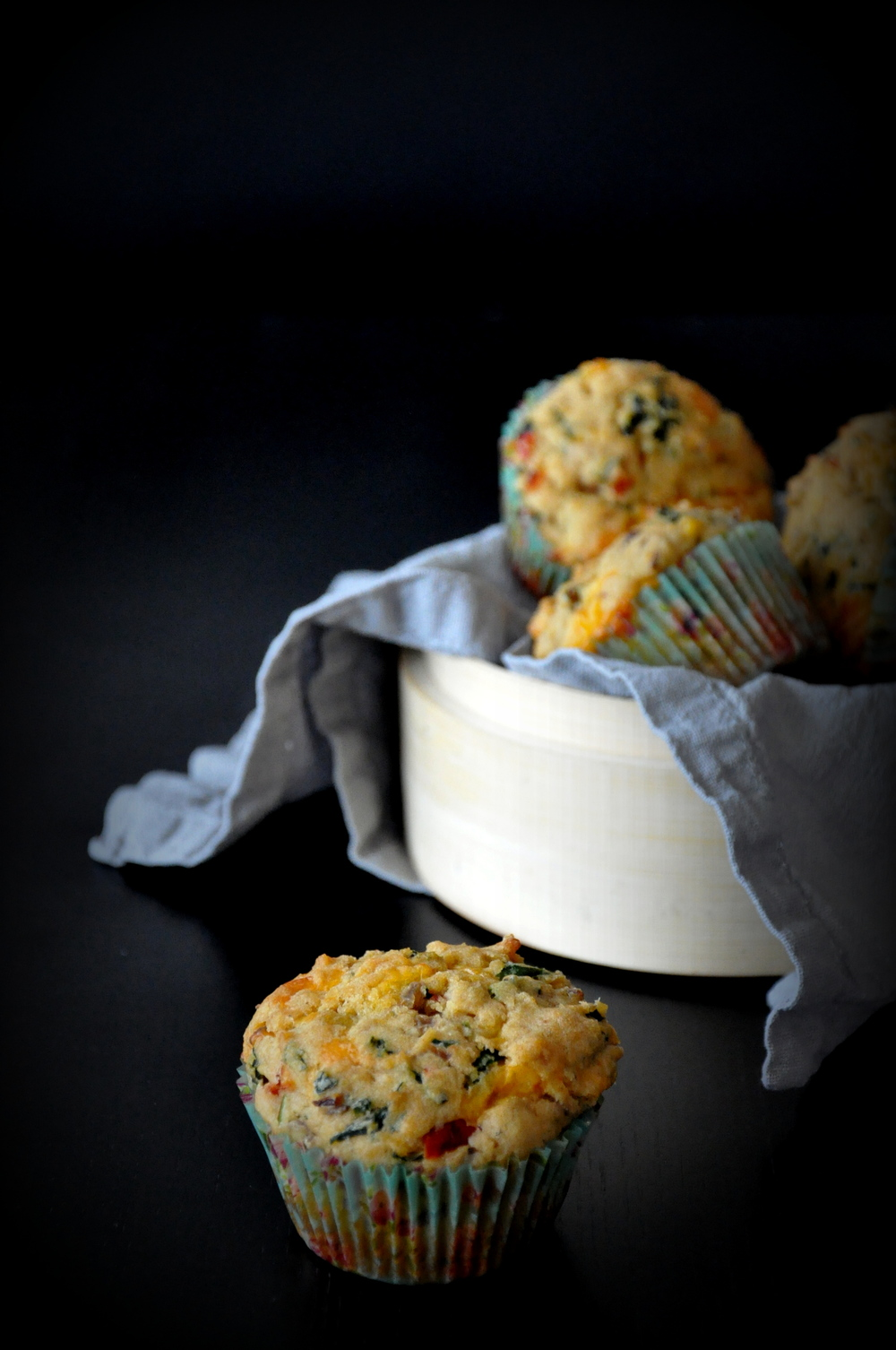 Atta Spicy Savory Muffins8
