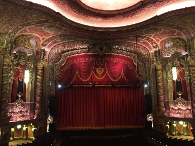 "Kings Theatre : In the 1920s, Loews opened 5 ""wonder theaters"" in the NYC area. The fates of each vary, but the Kings Theatre in Flatbush reopened in 2015 after a $95M renovation. It is a stunning 3,000-seat venue for music, theater, and movies."