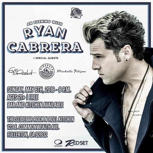 Tonight. @slidebar  Show starts at 8pm.  @ryancabrera @hideouts @michellefilijan  #EyetheRealist #ryancabrera #hideouts #michellefilijan #Strains #Music #Musicians #Bands #Unsigned #PopPunk #Alternative #Rock #AlternativeRock #Emo #PostPunk #PostHardcore #Pop #LiveMusic #PopRock #Fullerton #DowntownFullerton