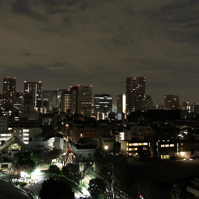 6AM in Shinagawa, Tokyo. #roadtotheolympics #olympics #tokyo