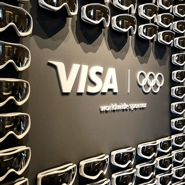 Representing #Visa - The official payments sponsor of #Pyeongchang2018  #client #agencylife #olympics #winterolympics #adagency #marketingagency #marketing #bts #behindthescenes #southkorea #🇰🇷