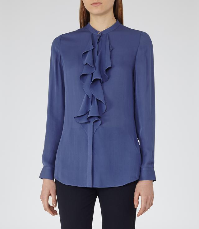 Reiss Pippin Ruffle Silk Shirt.jpg
