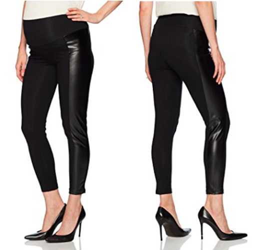 Everly Grey - FAUX LEATHER LEGGINGS