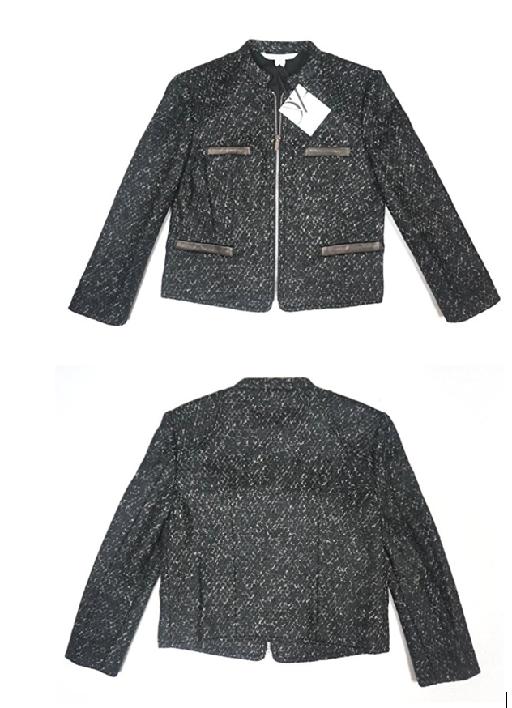 Diane Von FurstenbergLeather Zip Jacket - valued at $485