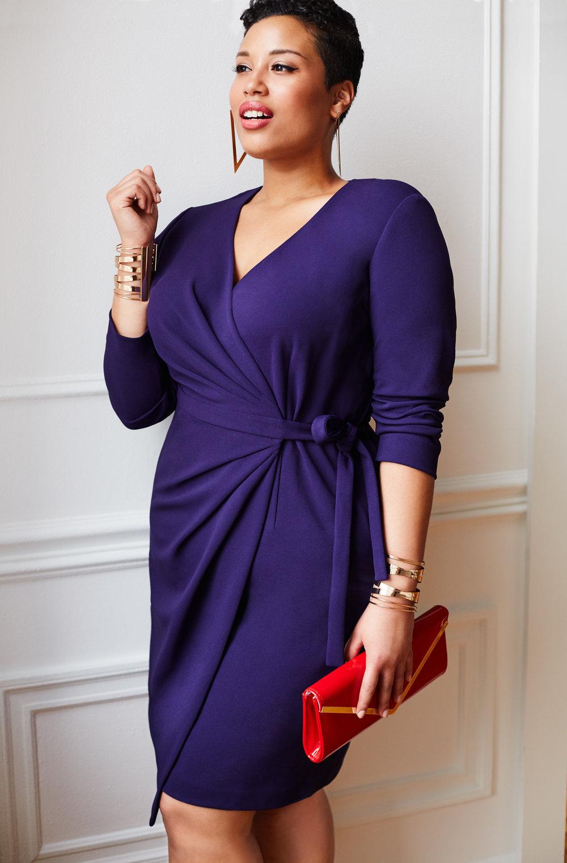Alexandra Wrap Dress in Size 1X.jpg