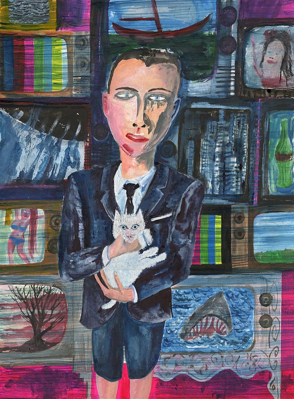 Portrait Of Michael TeeVee