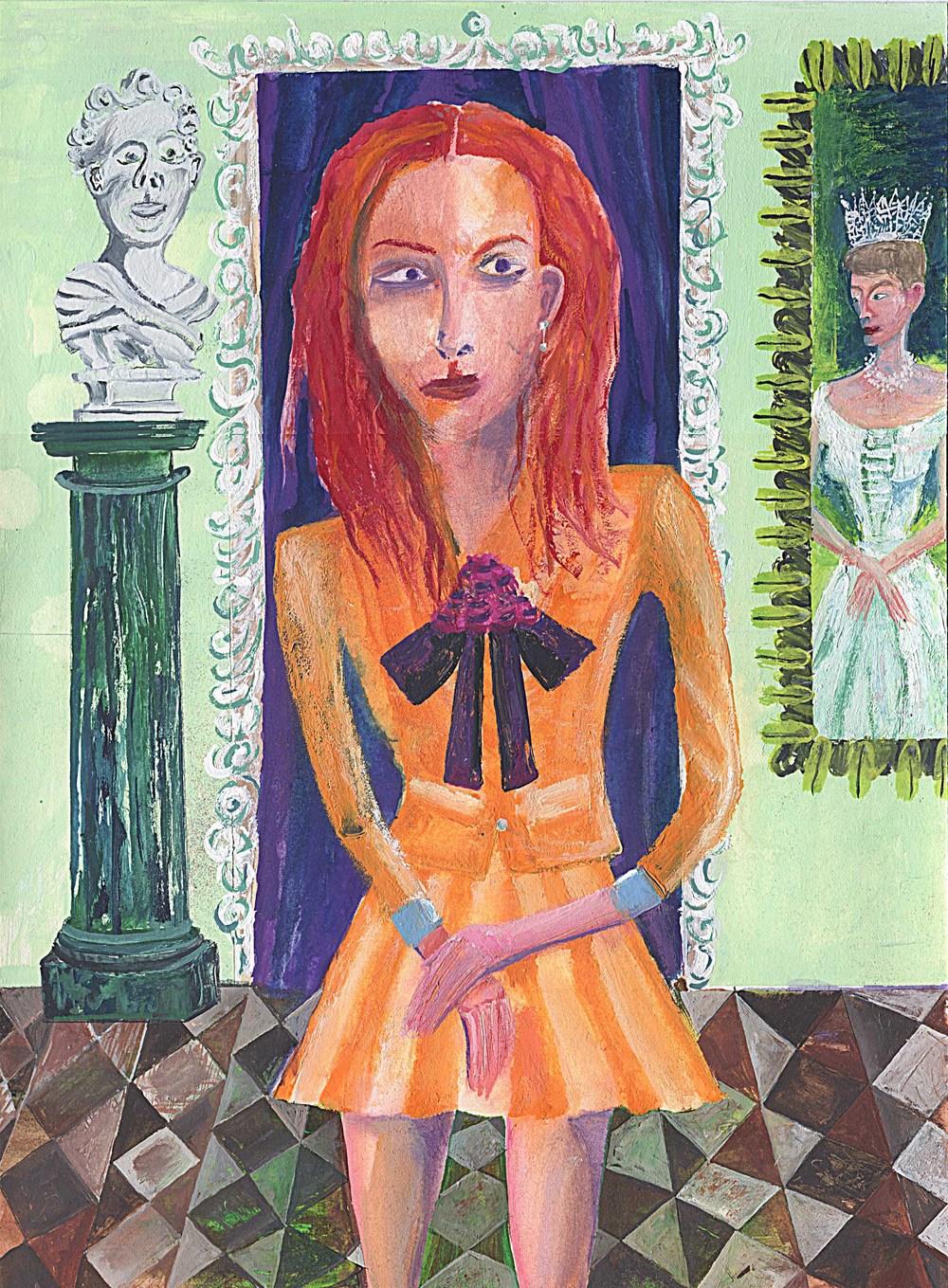 Portrait Of Veruca Salt