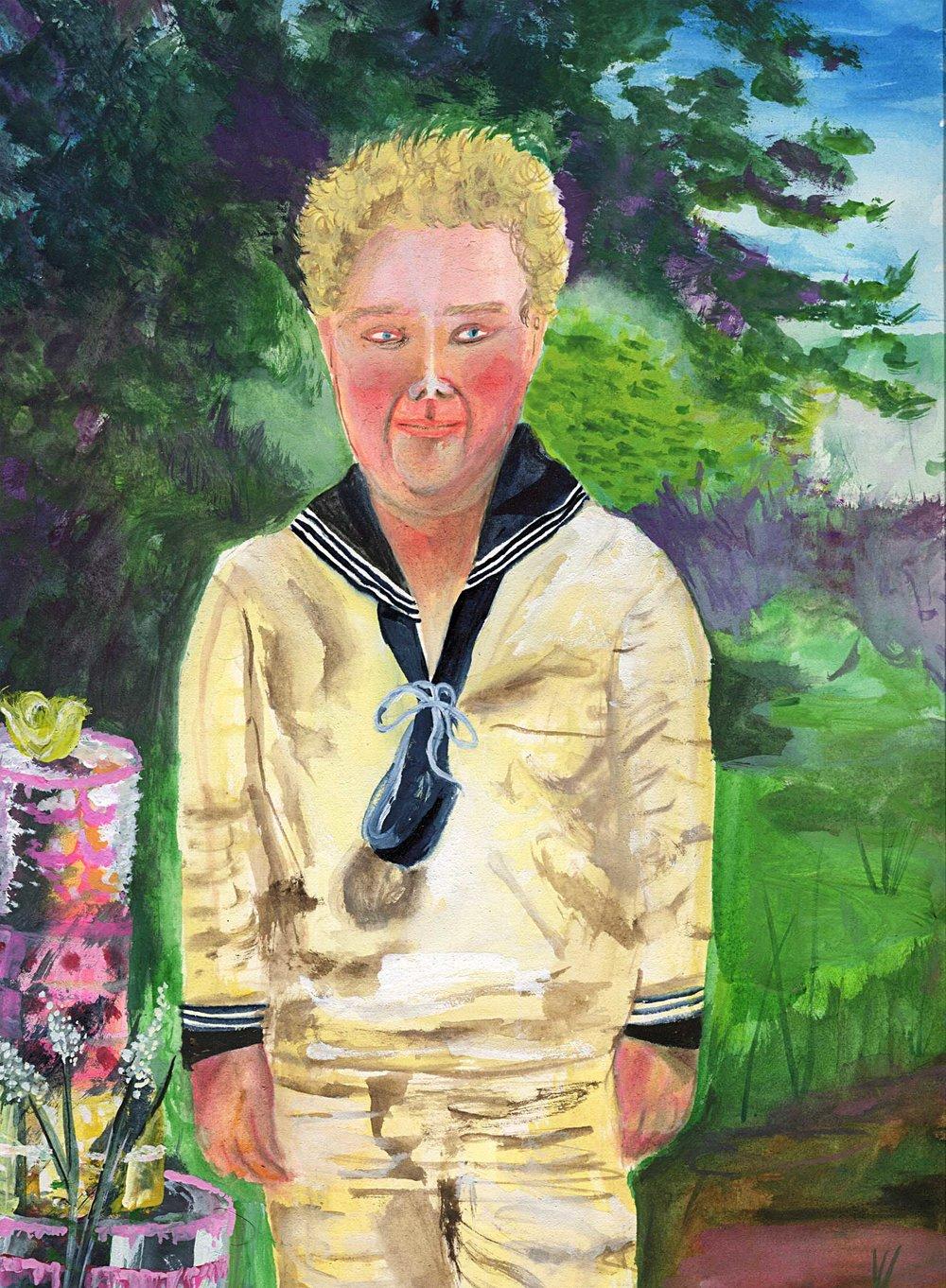 Portrait Of Augustus Gloop