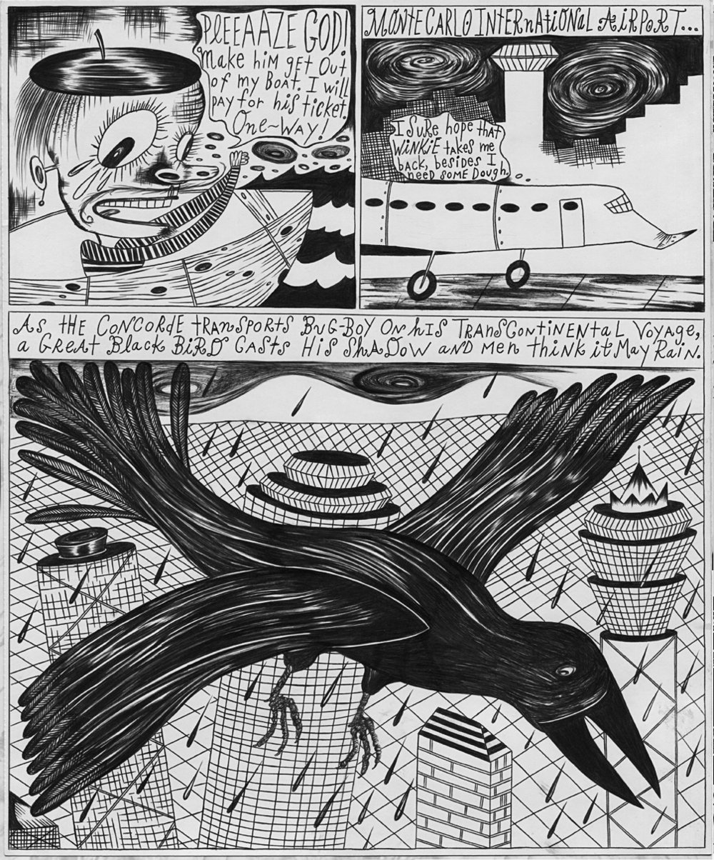 """Page from """"graphic novel"""" Scary!"""