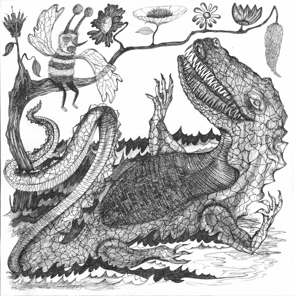 How Doth the Little Crocodile 1