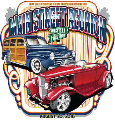 The Main Street Reunion Classic Car Show In Napa Colbert Group - Classic car show tomorrow