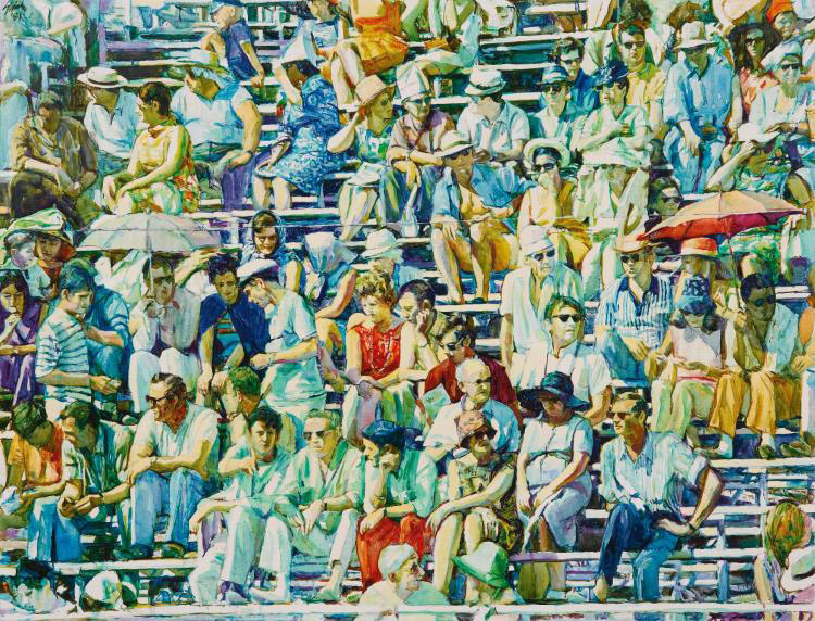 Shirl Goedike, The Arena Crowd, Madrid / Image courtesy of Sotheby's.