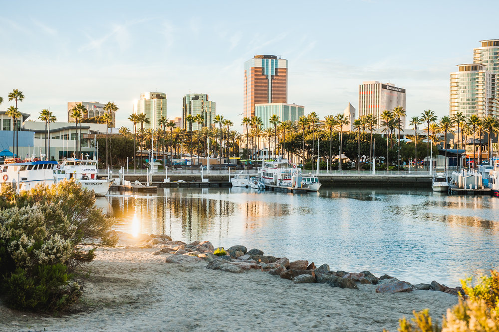 Long Beach Shoreline Waterfront Park