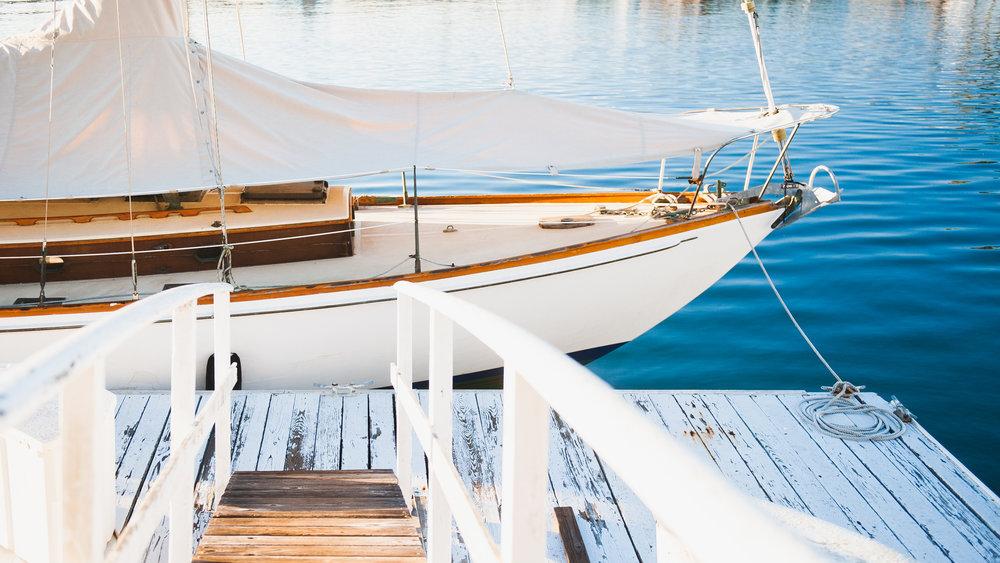 Long Beach Sailboat