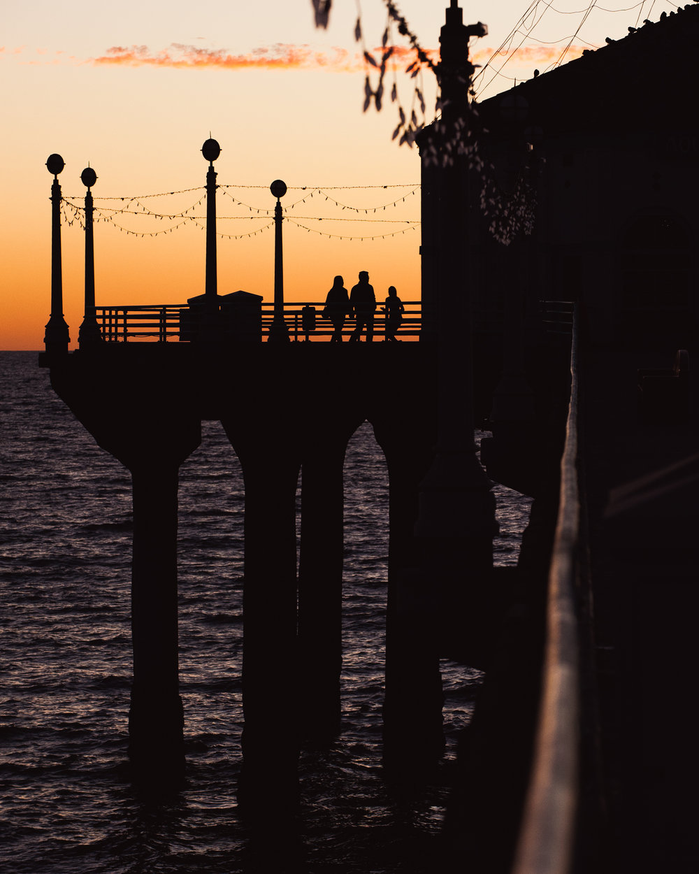 Copy of Manhattan Beach Pier Sunset