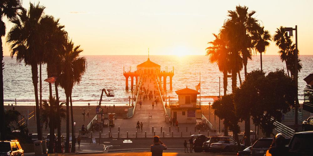 Sunset Manhattan Beach Pier