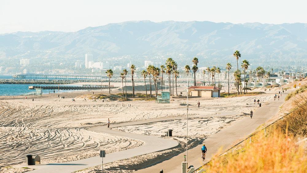 El Segundo Beachfront Bike Path